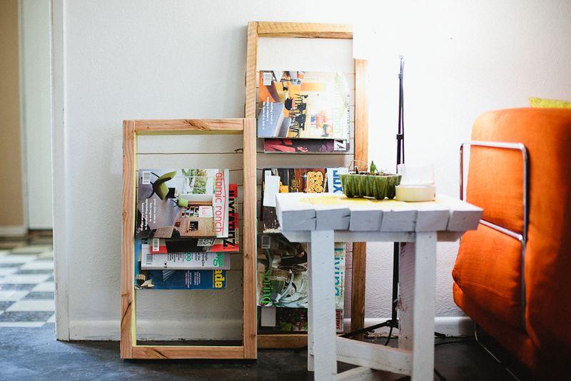 Magazine Rack DIY A Beautiful Mess