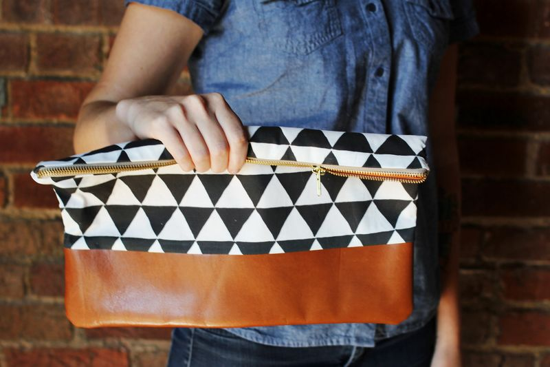 Geometric Clutch by A Beautiful Mess
