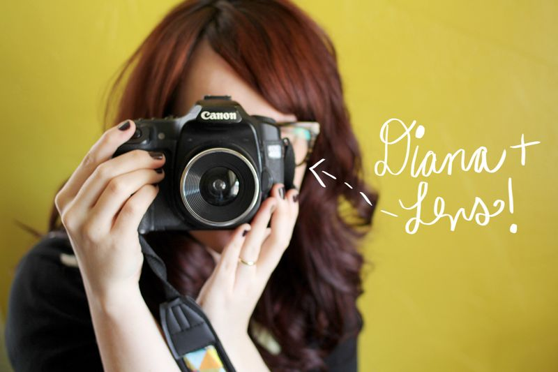 Diana + Lens for DSLR