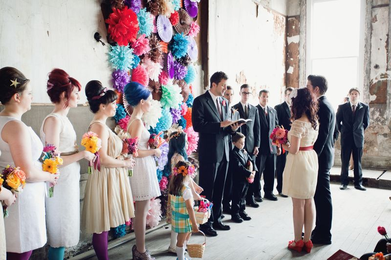 Diy Wedding Day Flower Wall A Beautiful Mess