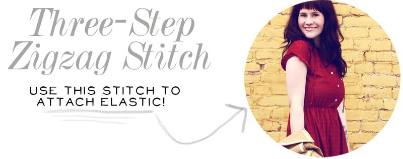 Three-Step Zigzag Stitch