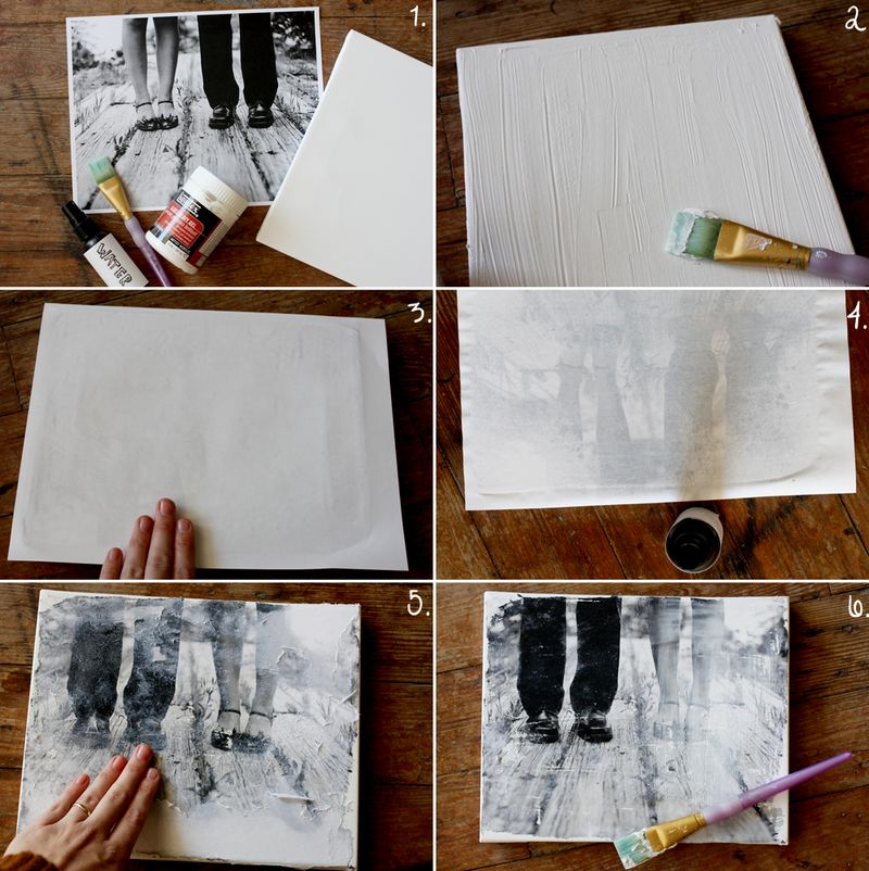 diy canvas art ideas pinterest make your own canvas portrait a beautiful mess 12074
