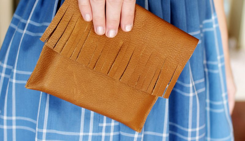 Leather Pocket Purse 3