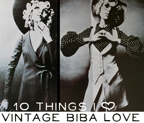 10 Things I Love Vintage Biba A Beautiful Mess