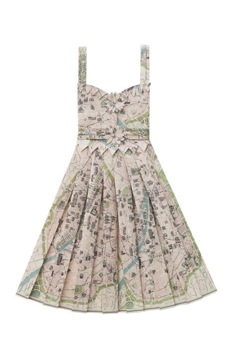 Paper dresses 3