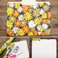 Retro Floral File Folders  - January 30, 2012