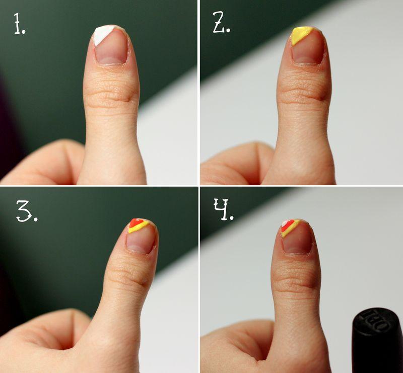 tricks treats halloween nail art by holly sarah a