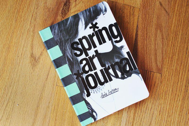 Spring art journal 2