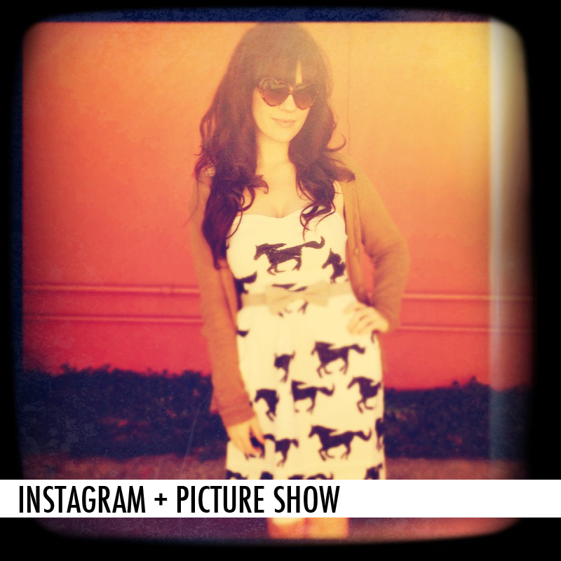 INSTAGRAM + PICTURE SHOW