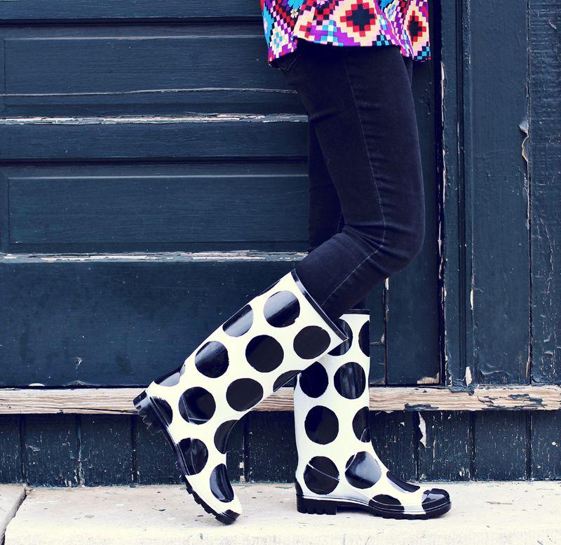 Rain boots fail