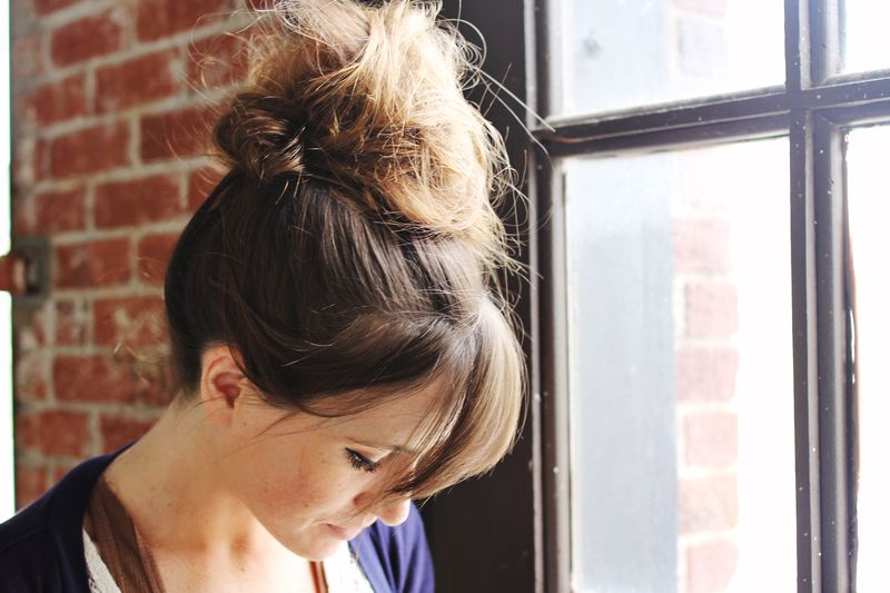 Top knot 3
