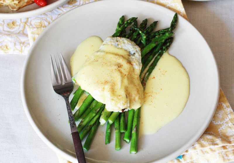 Easy hollandaise sauce