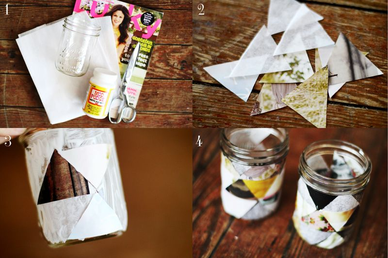 DIY GEOMETRIC VOTIVE PROJECT 2