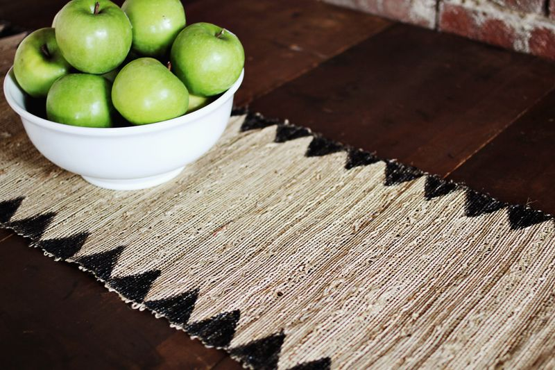Table runner DIY 2