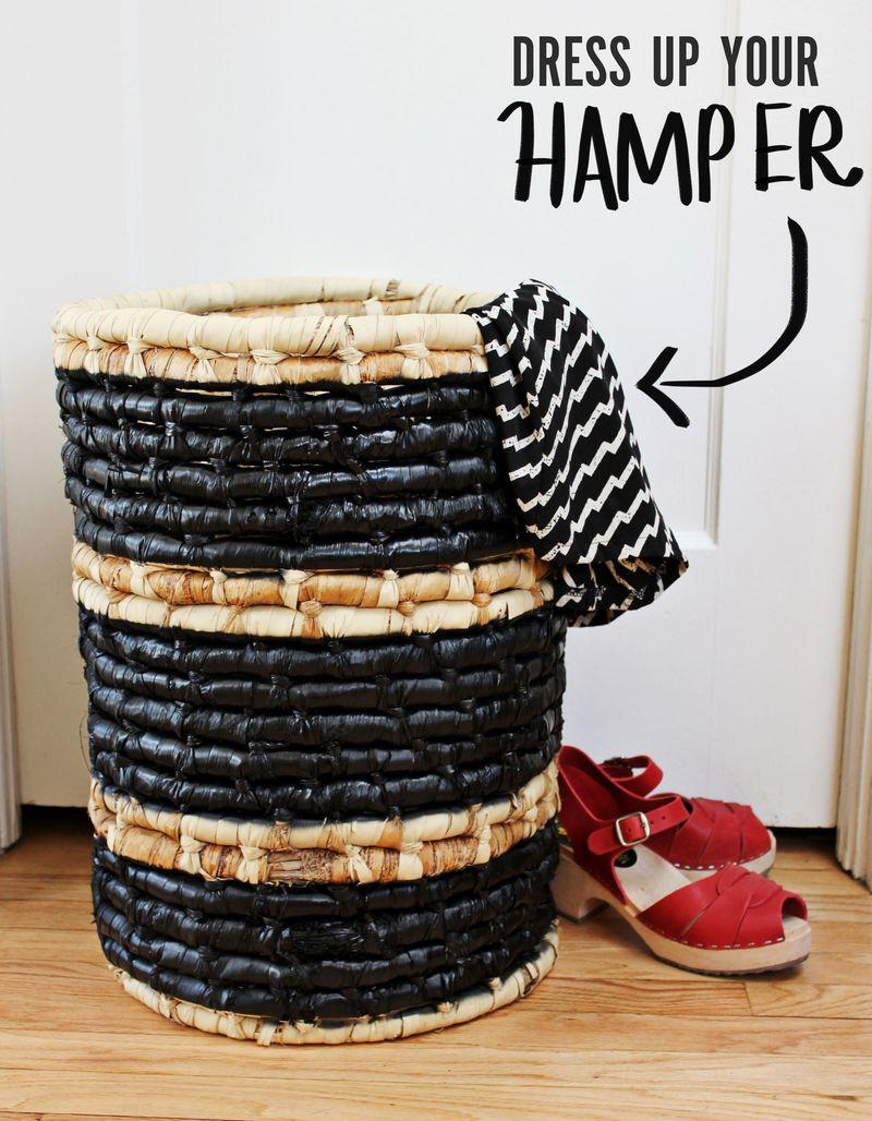 Dress up your hamper 1