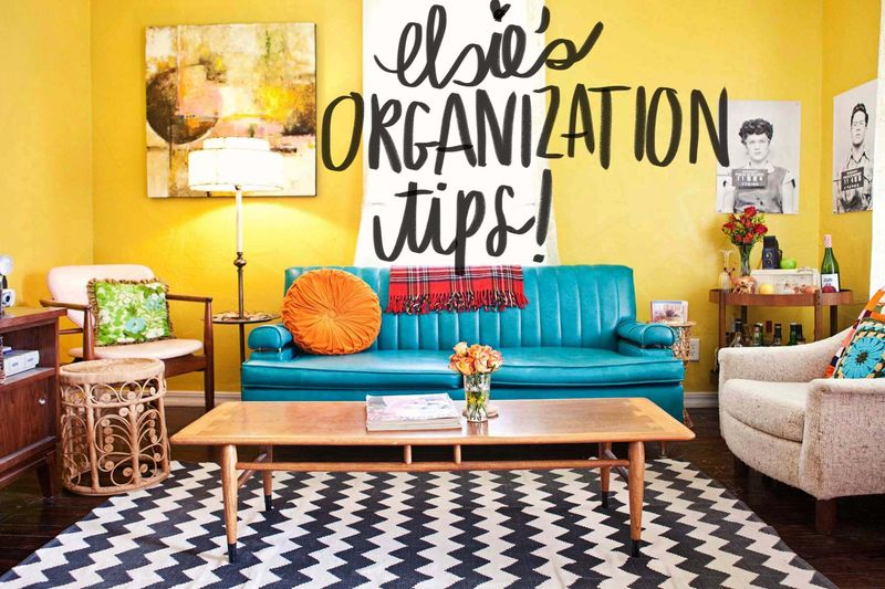 Elsie's Organization Tips