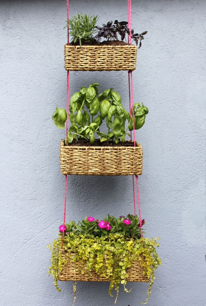 Hanging Basket Garden DIY