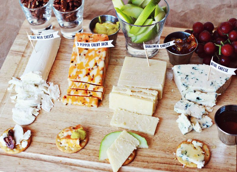 5 Tips For Creating The Perfect Cheese Platter & 5 Tips for Creating the Perfect Cheese Platter - A Beautiful Mess
