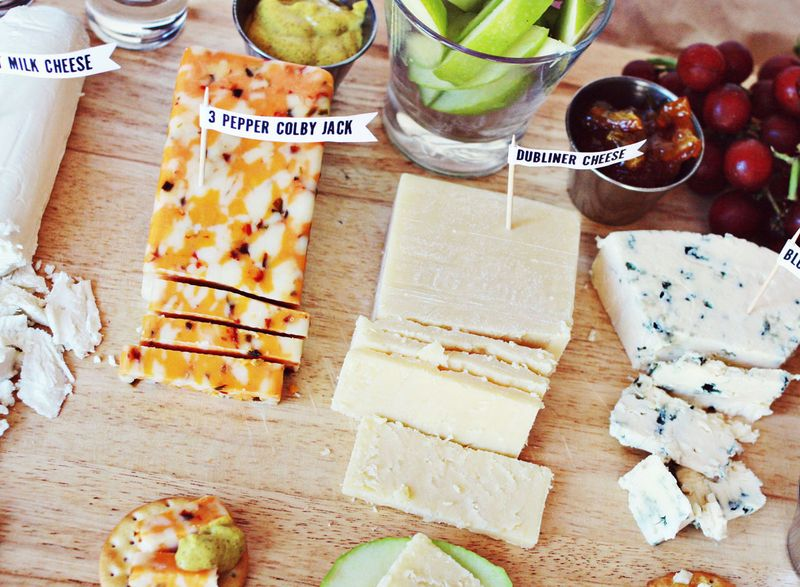 Cheese Plate Styling