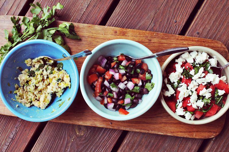 Avocado Salad Fillings
