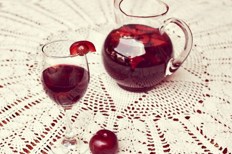 Plum and Grape Red Sangria