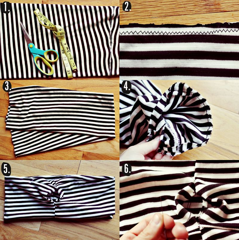 Belly Band DIY Steps
