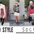 5 Ways to Style Socks! - August 02, 2012