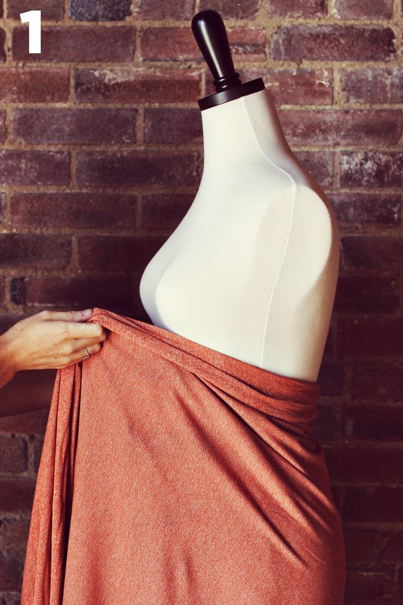 Maternity Diy Make A Wrap Dress A Beautiful Mess