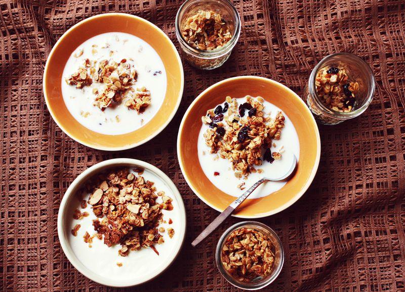 Recipe 1 homemade granola