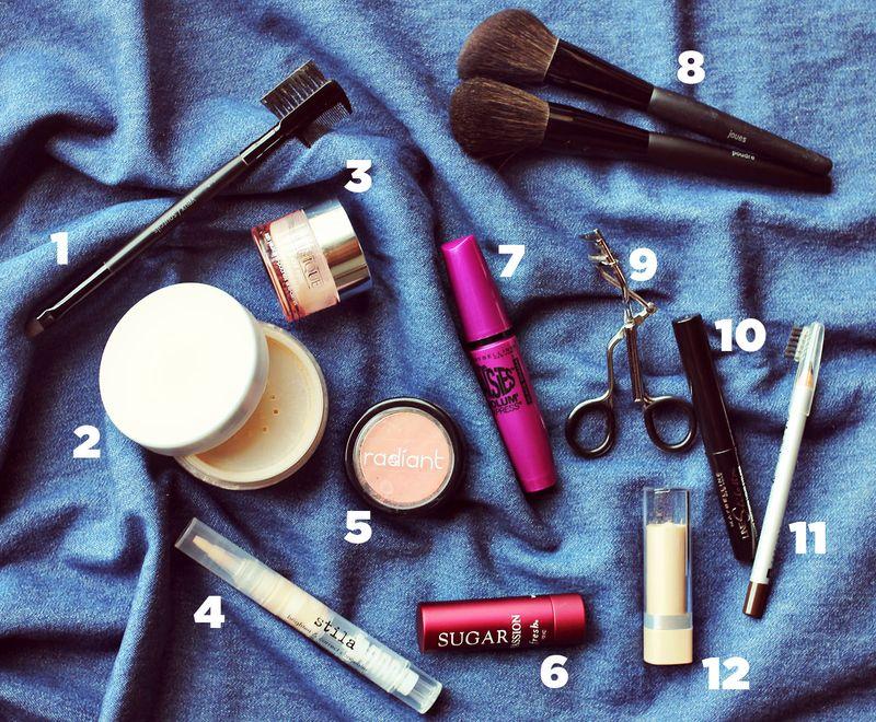 Katie's makeup