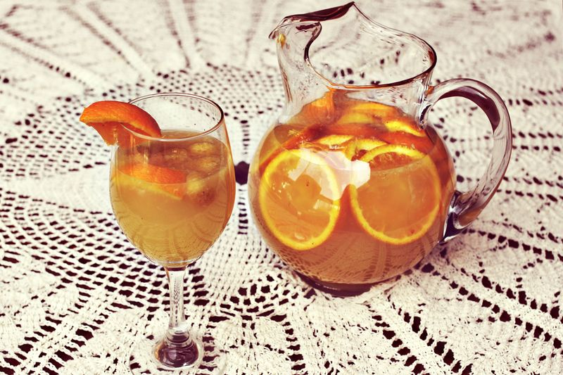 White Raspberry and Citrus Sangria