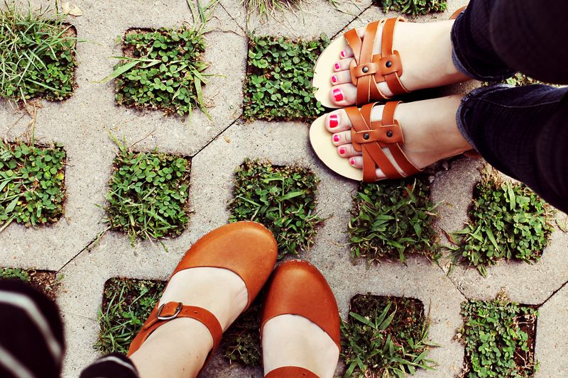 We love shoes _ Sister Style on A Beautiful Mess