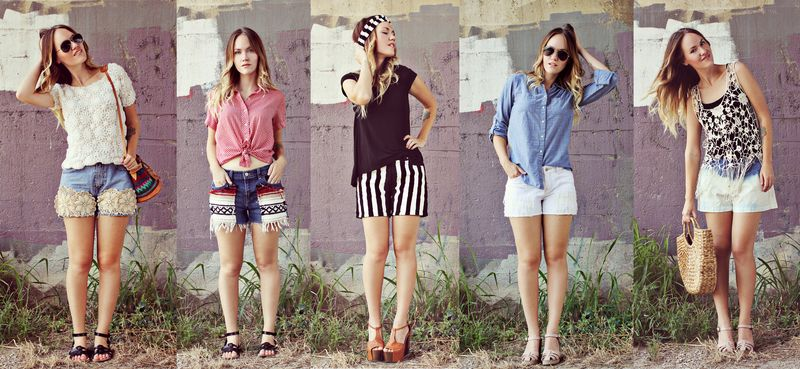 5 summer shorts diy
