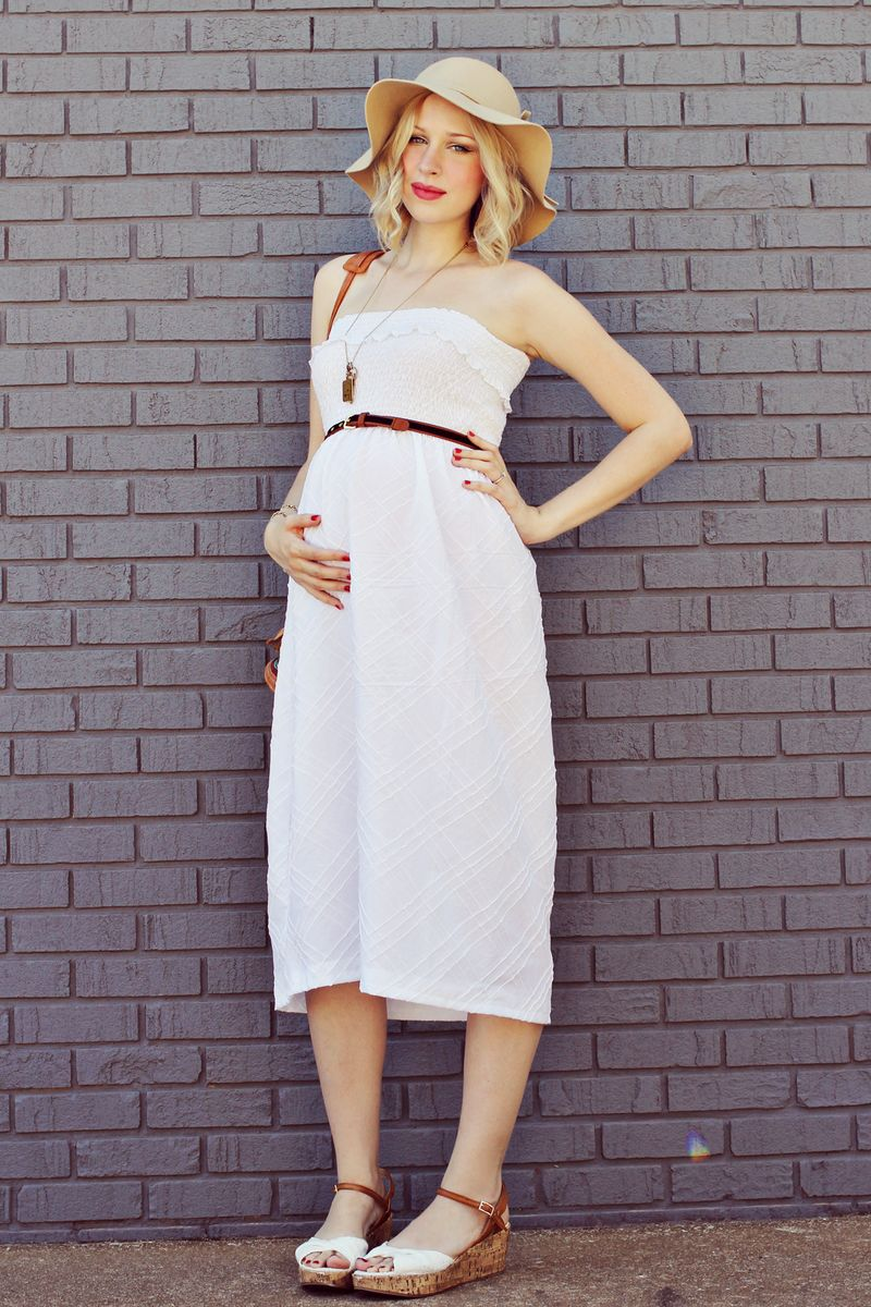 Maternity DIY: Make A Sun Dress – A Beautiful Mess