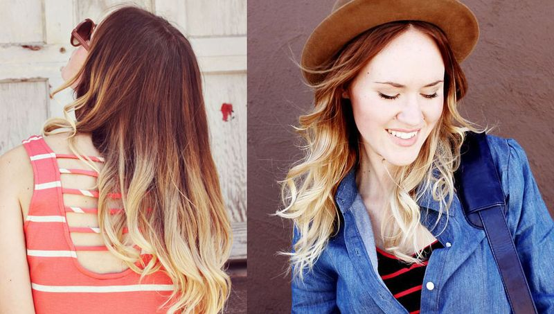 Two toned hair