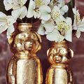 Gold Honey Bear Vase D.I.Y.  - August 30, 2012