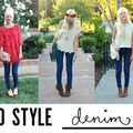 5 Ways to Style Denim Pants - August 31, 2012