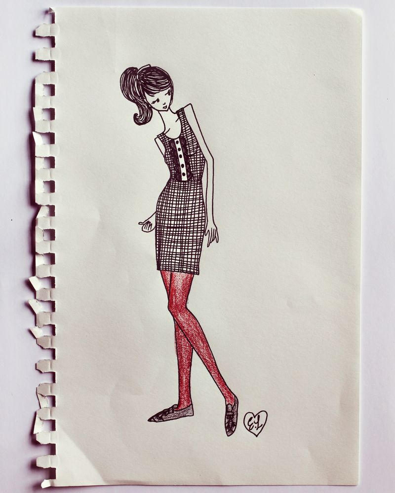 A Beautiful Mess for ModCloth sketches 3