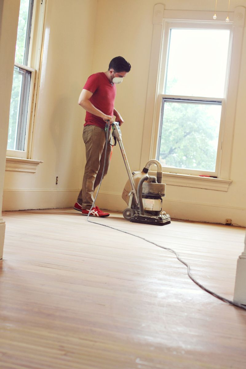 Buffing Floors