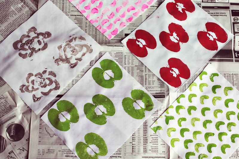 Finished Stamped Fabrics