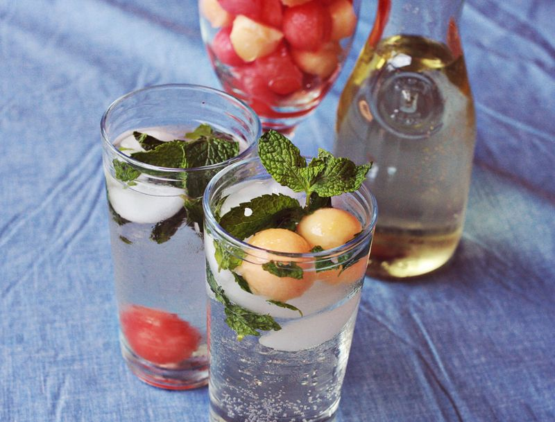 White Wine Spritzer: Two Ways - A Beautiful Mess