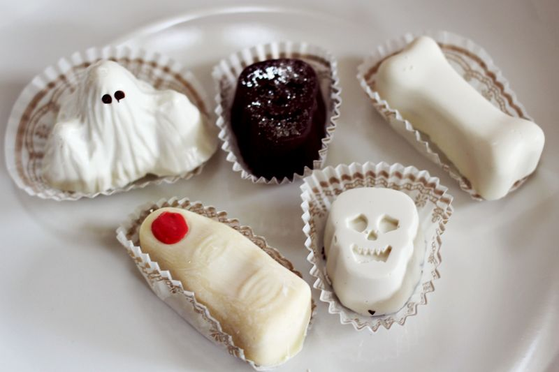 Halloween Truffles from Elle's Patisserie