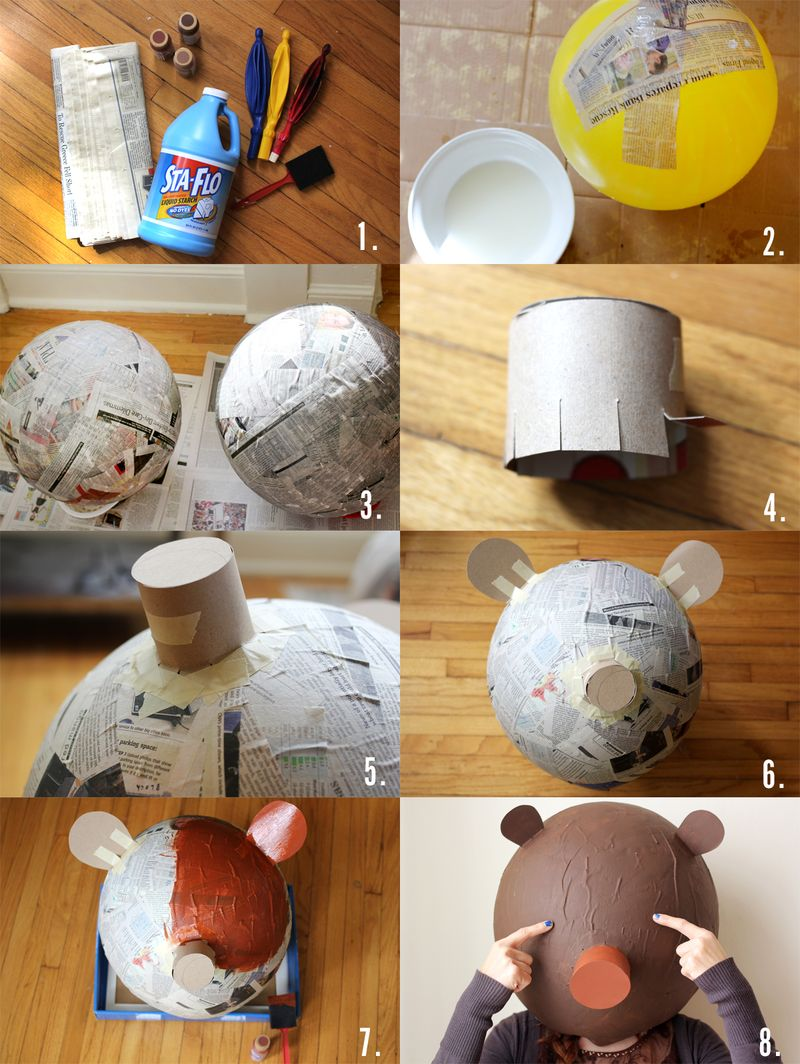 Bear Mask DIY
