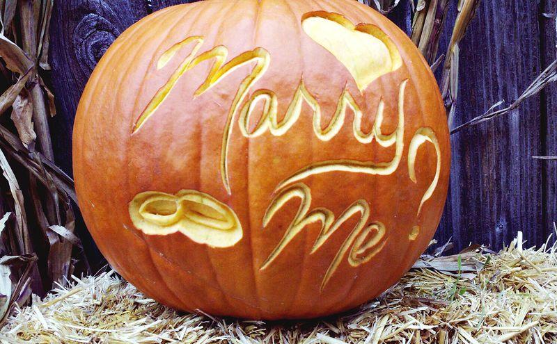 The perfect autumn proposal a beautiful mess