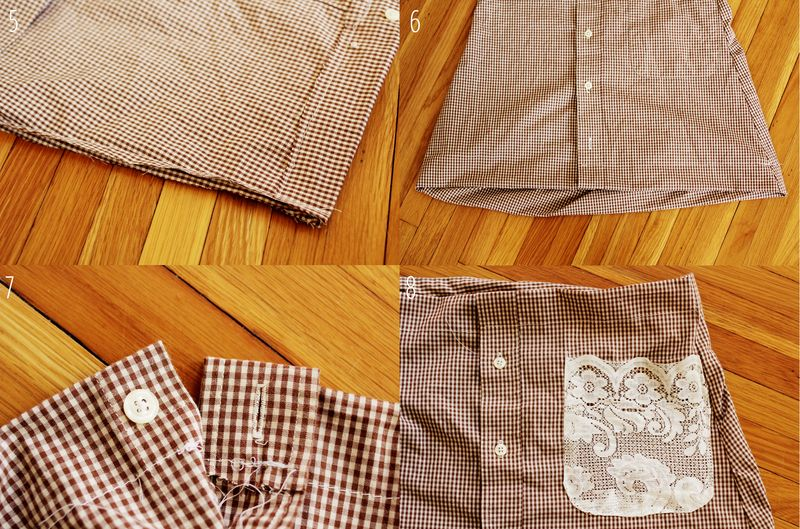 Plaid skirt collage 1