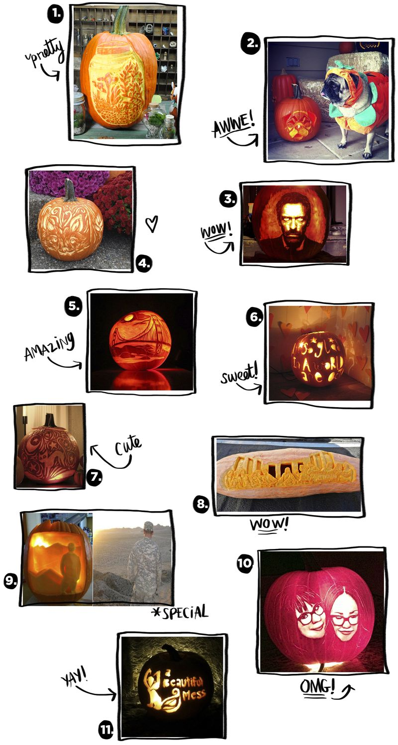 ABM Pumpkin Contest Honorable Mentions