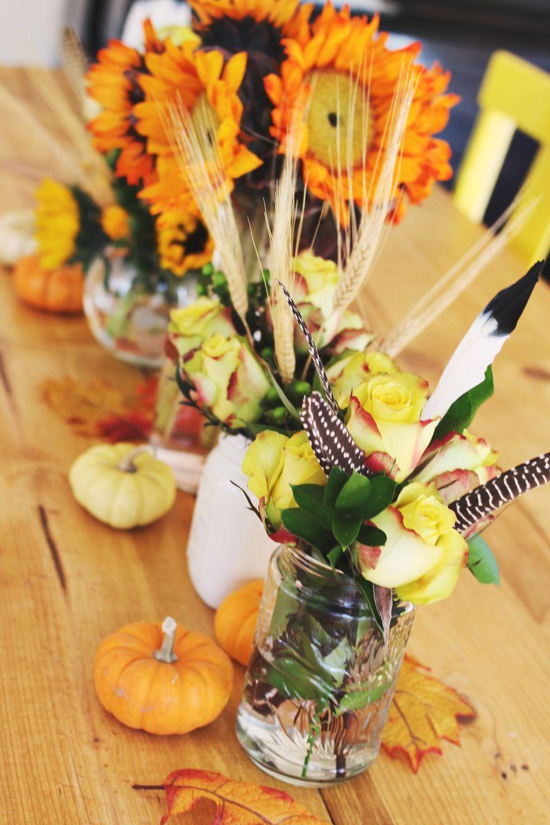 Tips for Autumn Floral Arrangements - A Beautiful Mess