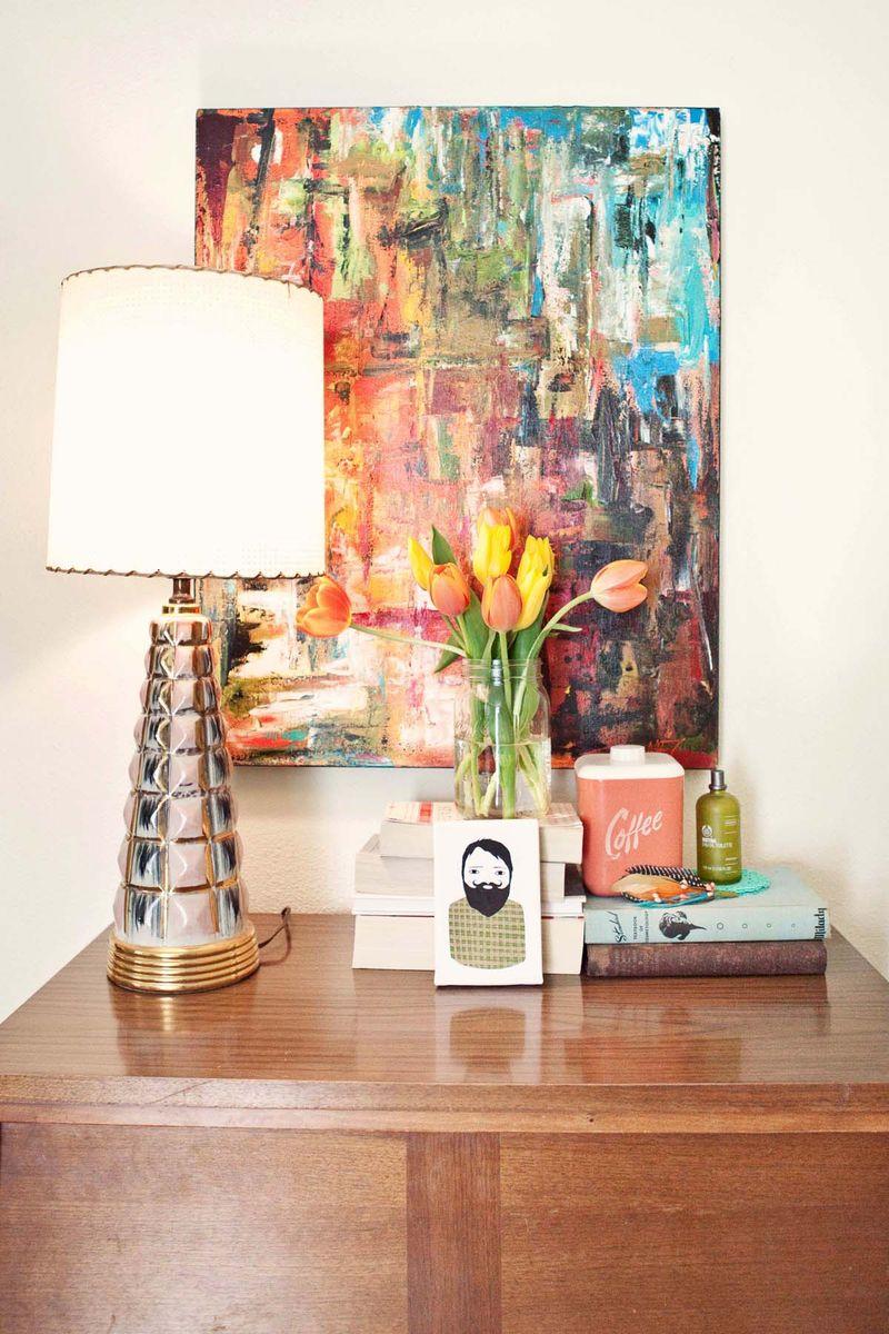 Elsie Larson living room