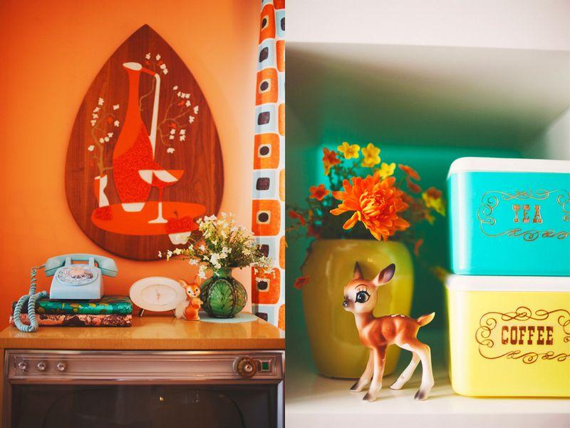 Vintage room details