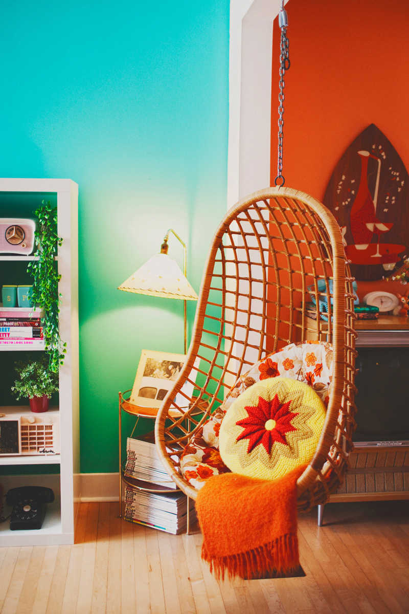 Vintage at home feature